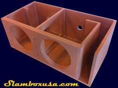 The sub enclosure is the perfect balance between price and performance. 15 Subwoofer Box, Subwoofer Box Design, Speaker Box Design, Sub Box, Box Building, Car Sounds, Electrical Projects, Diy Workshop, Car Audio