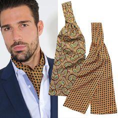 Die lässige Alternative zur Krawatte: Edle Krawattenschals aus Seide