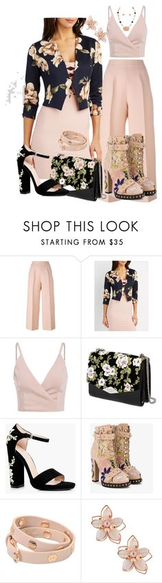 """""""Wardrobe Extension"""" by shirley-de-gannes ❤ liked on Polyvore featuring Fendi, Charlotte Russe, Rochas, Boohoo, Alexander McQueen, Tory Burch and NAKAMOL"""