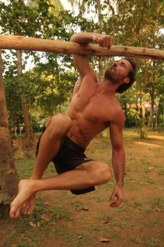 Get Fit Like a Wild Man: A Primer on MovNat Art of Manliness, natural movement based fitness to better function in the world. #adventurefitness