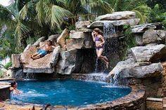 spa pool by Lucas Lagoons in Sarasota, Florida