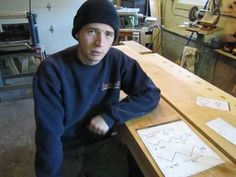 How to make wooden screws, bolts and nuts without fancy tools. Good playlist from Mr Carter.