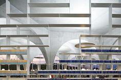 Tama University Library, Toyo Ito