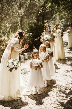 Keeping their Algarve venue a secret right up until the ceremony, Hannah Gyngell and Richard Lowndes ensured their wedding guests were wowed from the outset. Click the link to view the full wedding album! Flower Girl Photos, Flower Girl Dresses, Flower Boys, Wedding Themes, Wedding Styles, Wedding Photos, Wedding Ideas, Yellow Bridesmaid Dresses, Wedding Dresses