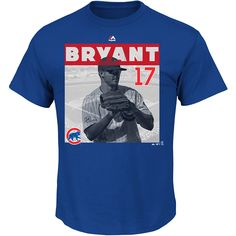 Chicago Cubs Kris Bryant League Competitor T-Shirt