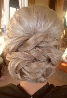 braided low bridal updo ~ we ❤ this! moncheribridals.com
