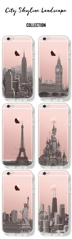 City Skyline Unique design iPhone cases