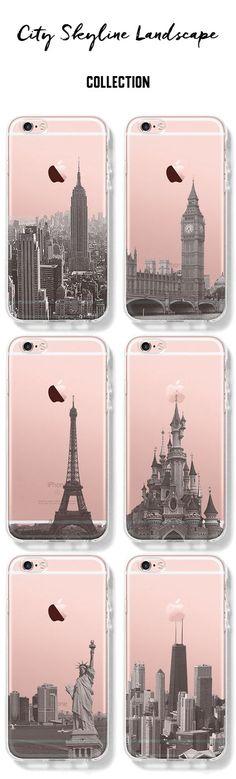 City Skyline Unique design iPhone cases
