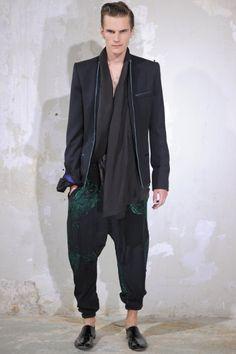Haider Ackermann - Men Fashion Spring Summer 2014