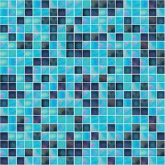 Cool Blaues Mosaik f r Pool Badezimmer oder K che
