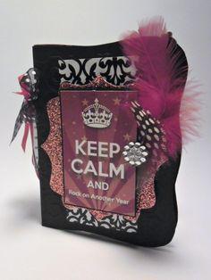 Iv ScrapDesigner: Blog Hop Keep Calm & Rock on another year  con el kit She's Star de Nini Scrap