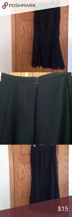 Long Black skirt Lovely, shapely, long skirt. Scarlett Nite. Size 12. Scarlett Nite Skirts Maxi