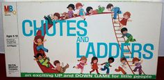 MILTON BRADLEY: 1974 Chutes and Ladders #Vintage #Games