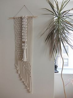 Macramé Wall Hanging by MyMacrameArt on Etsy