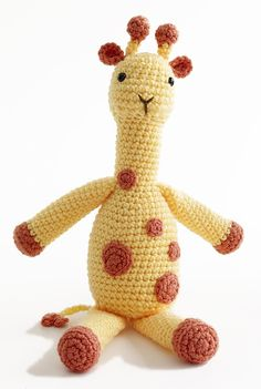 I have yet to make this Giraffe for Holden  crochet pattern