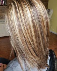 Love the contrast Medium Hair Styles, Short Hair Styles, Hair Shades, Hair Color And Cut, Hair Color Highlights, Hair Affair, Hair Health, Great Hair, Gorgeous Hair