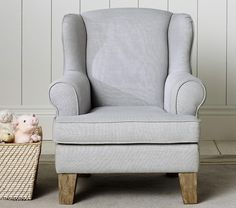 Shop kids chairs and kids lounge chairs great for loungin' and play. Find your kids' next favorite chair at Pottery Barn Kids. Playroom Furniture, Baby Furniture, Upholstered Furniture, Cool Furniture, Playroom Decor, Kids Lounge Chair, Toddler Table And Chairs, Mini Chair, Baby Chair