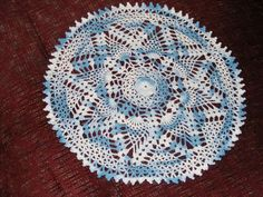 doily patterns | completed doily EVER! It took me two days to complete. The pattern ...