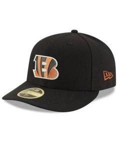 New Era Cincinnati Bengals Team Basic Low Profile 59FIFTY Fitted Cap - Black 7 1/2