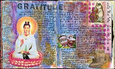 journal pages via Traci Bunkers blog