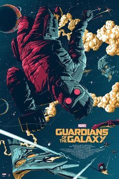 Star Lord - Guardian Of The Galaxy Art Silk Poster Print Home Decor