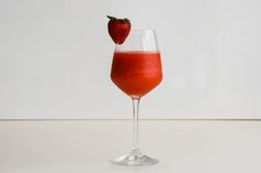 You need this strawberry gin slushy in your life