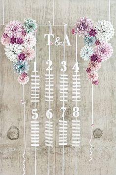 Brides: Three Amazing Escort Card Ideas for Your Wedding