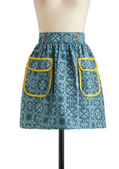 Summer Snow Skirt, #ModCloth