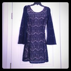 Blue dress size medium Blue dress size medium Xhilaration Dresses