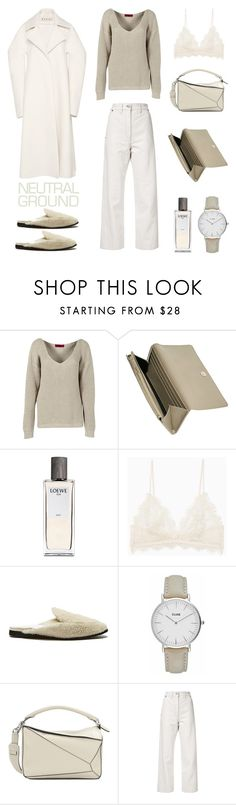 """""""Unbenannt #785"""" by fashionlandscape ❤ liked on Polyvore featuring Boohoo, Loewe, Helmut Lang, Lemaire and Marni"""