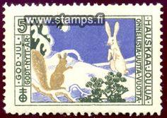 Joulupostimerkistä vuonna 1912 -Jänis ja orava tuli Suomen ensimmäinen virallinen joulumerkki. Katso lisää tietoa STL:n hyväntekeväisyysmerkeistä.   http://www.terveysportti.fi/xmedia/duo/duo93934.pdf