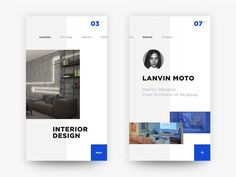 50 User profile page — Design Inspiration