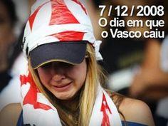 Vasco rebaixado, segunda divisão, promessa - YouTube