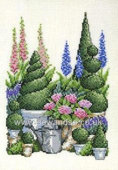 Shop online for Topiaries Portrait Cross Stitch Kit at sewandso.co.uk. Browse our great range of cross stitch and needlecraft products, in stock, with great prices and fast delivery.