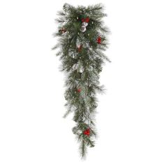 Artificial Christmas Swag by Gordon Companies, Inc. $51.00. Brand Name: Gordon Companies, Inc Mfg#: 30786163. This product may be prohibited inbound shipment to your destination.. Picture may wrongfully represent. Please read title and description thoroughly.. Please refer to SKU# ATR25791810 when you inquire.. Shipping Weight: 3.00 lbs. Artificial Christmas swag/88 two-tone green molded frosted tips/35 clear mini lights on green wire/bulbs stay lit if one burns out/inside use/32...