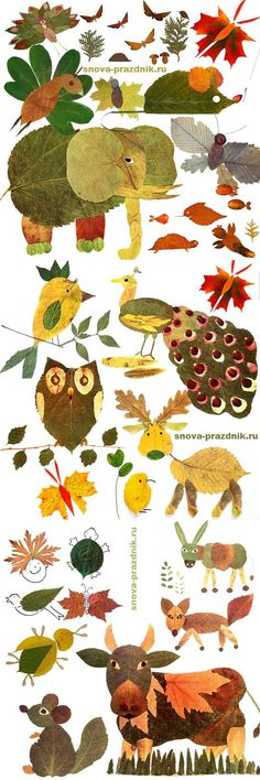 art projects for kids using nature * art using nature for kids Autumn Crafts, Fall Crafts For Kids, Autumn Art, Nature Crafts, Projects For Kids, Diy For Kids, Autumn Leaves, Kids Crafts, Art Projects