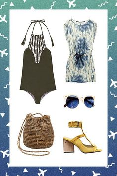 4 Trips We're Dying To Take (& What To Pack For Each) #refinery29  http://www.refinery29.com/dream-spring-break-vacations#slide-1  Somewhere Warm If the sun is calling your name, it's time to refresh your swimwear and coverups. Same goes for shoes with open toes (yay!), sunglasses, and any items with a summery vibe.