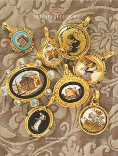 Museum Charm Bracelet exclusive from Elizabeth Locke Jewe,s