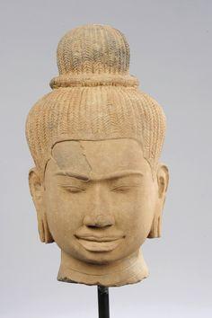 Tresses Of Shiva Angkor, Shiva, Cambodian Art, Love Destiny, Khmer Empire, Stone Sculpture, Buddhist Art, South Pacific, Digital Art
