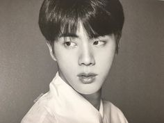 jin dark and white at DuckDuckGo Seokjin, Hoseok, Namjoon, Taehyung, Bts Jin, Jimin, Bts Face, Wings Tour, Face Photo