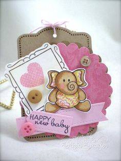 DTGD - Baby Tag by T. Joy - Cards and Paper Crafts at Splitcoaststampers