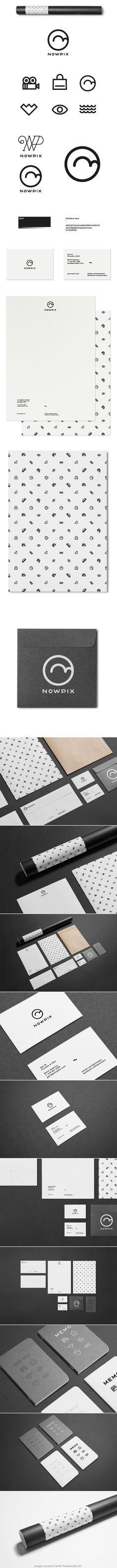 NowPix Branding Identity | Branding | Pinterest