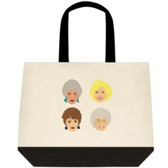 The Golden Girls Tote Bag Purse Grocery Shop #Unbranded #ToteBag