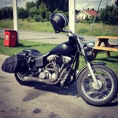 Harley Davidson Super Glide, the love of my life...
