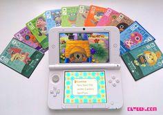 Luigi Nintendo 3DSXL and Animal Crossing amiibo Cards