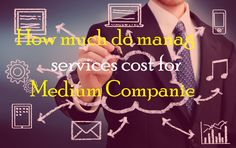 How Much Do Managed Services Cost for Medium Companies? Meant To Be, Investing, Organizations, Software, Tools, Money, House, Instruments, Silver