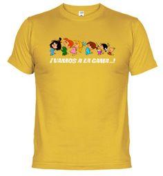 Camiseta Vamos a la cama 1 (oscura)