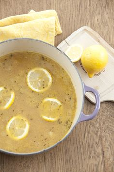 Lemon Chicken Quinoa Soup recipe is healthy and easy to make for lunch or a side dish for dinner. Recipe via @WishesNDishes