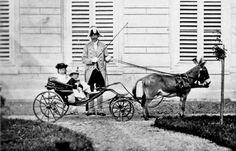 HH.II.RR.HH. Archduchess Gisela of Austria, later Princess of Bavaria; and Archduke Rudolph of Austria, Crown Prince of Austria