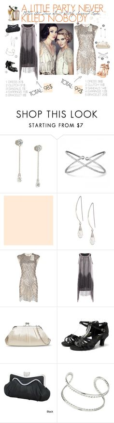 """""""2looks under 100$ inspired by Great Gatsby for party"""" by svetalukashevich ❤ liked on Polyvore featuring Lulu*s, Lane Bryant, Tevolio, Jacki Design, Miss Selfridge, giftguide, greatgatsby, artdeco, 1920s and newyearparty"""